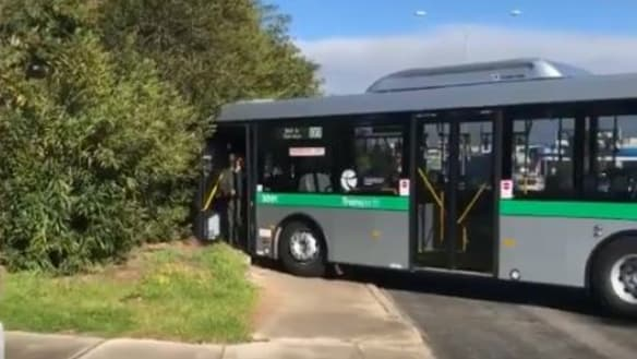 Transperth bus mishap brings peak hour traffic to a halt