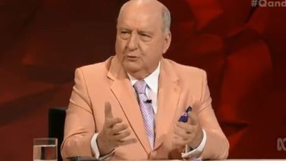 Alan Jones revels in Q&A's free kicks but there is no clear path ahead