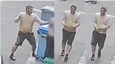 A man who was stabbed with a pencil in Melbourne's CBD has spoken out about his ordeal.
