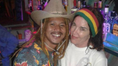 """Pixie Rose"" on the Facebook page of the Soul Train Reggae Bar in Siem Reap."