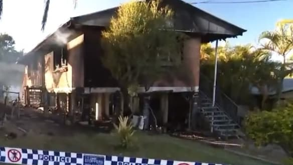 Woman escapes after north Brisbane house gutted by fire