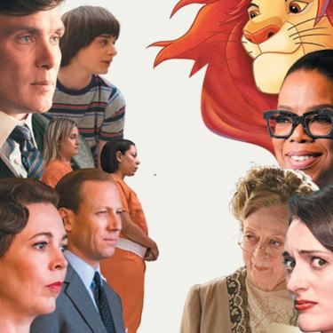 NETFLIX: Peaky Blinders; Stranger Things; Orange Is the New Black; The Crown versus THE RIVALS: Disney+'s The Lion King; Apple TV+'s Oprah's Book Club; Amazon's Downton Abbey; new hire Phoebe Waller-Bridge, creator of Emmy-winning Fleabag.