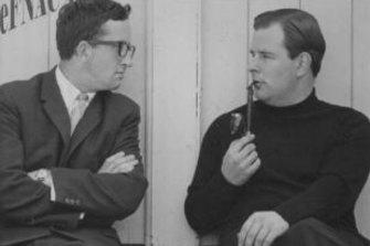 John (right) with John Foyster around 1965.