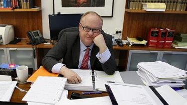 Former ICAC counsel assisting, Geoffrey Watson SC.