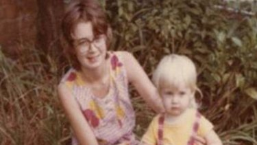 Missing mother Roxlyn Bowie with one of her children before her 1982 disappearance.