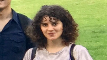 A photo of Israeli student Aiia Maasarwe taken just hours before she died.
