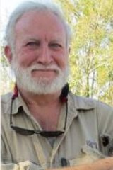Koala biologist Professor Frank Carrick from University of Queensland.