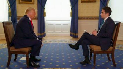 The stuff of memes: Australian reporter's hard-hitting Trump interview goes viral