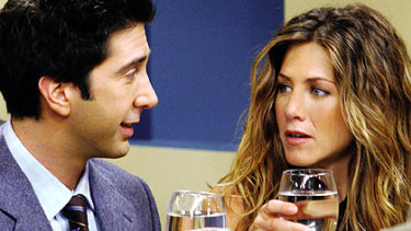 Just friends ... Ross and Rachel.