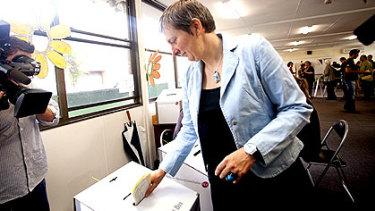 Greens candidate for Richmond Kathleen Maltzahn.