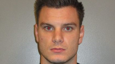 Kye Enright, 21, remains on the run and an arrest warrant has been issued against him.