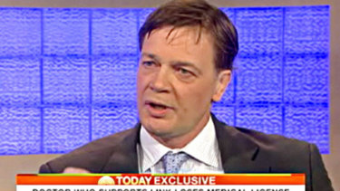 Dr Andrew Wakefield.