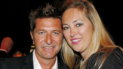Noughties glamour couple Wayne Cooper and Sarah Marsh split after 25 years