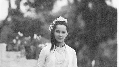 Renowned beauty was half-Australian princess of Burma