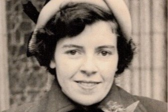 Ann Elizabeth Holmes served in the British Army during World War II.