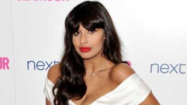 Actress and presenter Jameela Jamil.