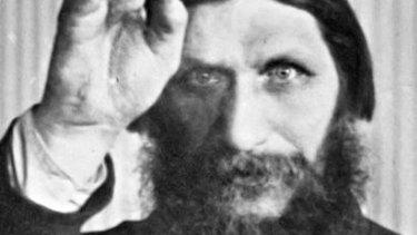 Grigori Yefimovich Rasputin, a monk who wielded powerful influence over the Russian Czar.