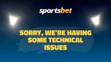 Sportsbet's website and mobile app have crashed.