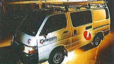 A Telecom van from 1993.