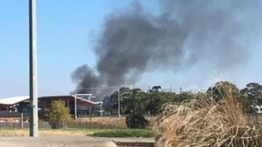 A fire has destroyed Smitty's Kitchens & Cabinets in South Morang