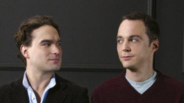 The Big Bang Theory stars Johnny Galecki and Jim Parsons.