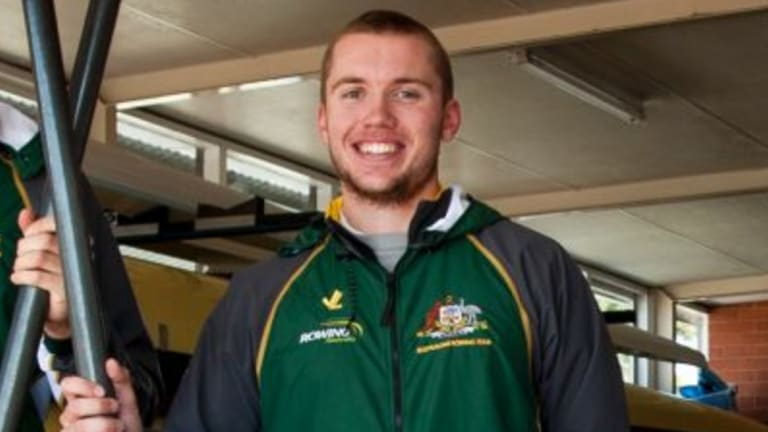 Canberra rower Caleb Antill won silver at the world championships.