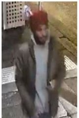 Police have released CCTV images of the man they are searching for and his car.