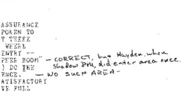 Close up: the mysterious handwritten addendum to a US diplomatic cable