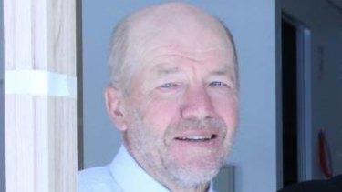 Former Bendigo South East College principal Ernest Fleming.