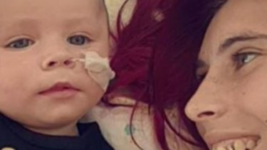 Nathaniel MacRae was six weeks old when he presented at Narrogin Regional Hospital.