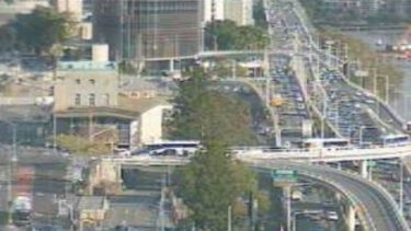 A crash has caused major delays on Friday afternoon.