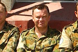 Craig Petrie in East Timor.