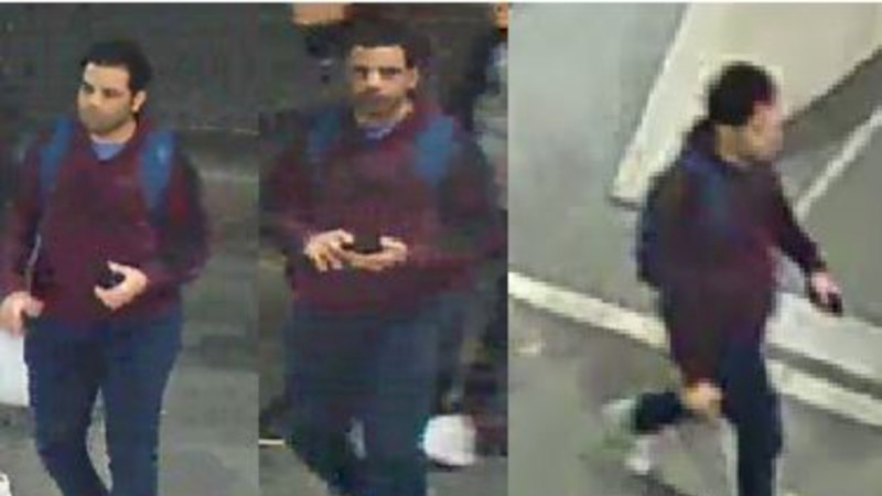 Man sought after woman sexually assaulted outside State Library