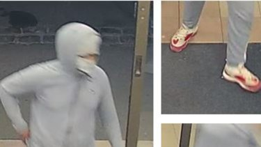 Police are still looking for a second suspect after a pharmacy was held up in Ascot Vale on Thursday night.
