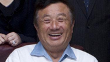 Ren Zhengfei, Huawei founder.