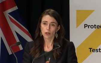 """New Zealand Prime Minister Jacinda Ardern: """"Delta is very, very tricky""""."""