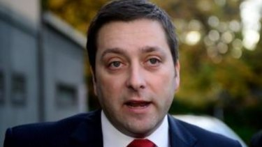 Opposition Leader Matthew Guy.