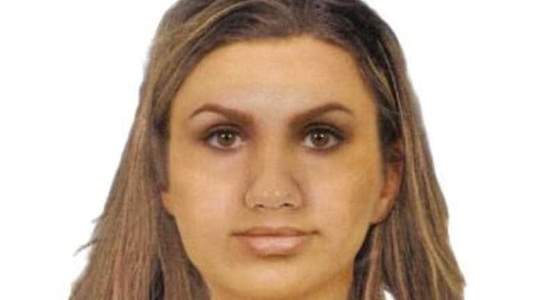 A computer-generated image of the woman wanted over the Glenaire shovel attack.