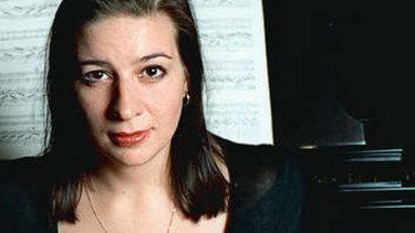 Pianist Caroline Almonte.