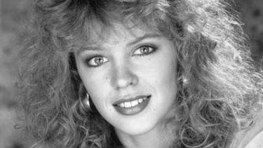 Kylie Minogue in 1989.