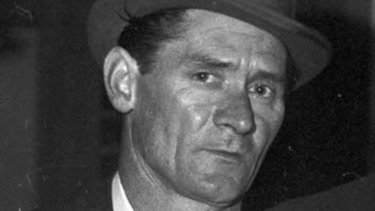"""Brian Bourke called Ronald Ryan, above, the """"toughest man"""" he had known."""