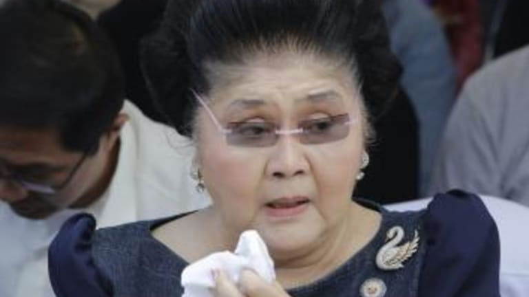 Imelda Marcos is facing dozens of protracted graft cases.