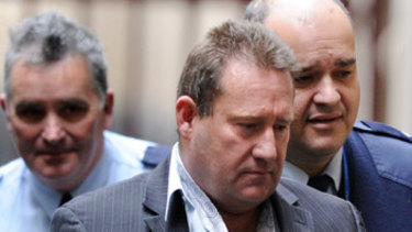 Geoffrey Leslie 'Nuts' Armour was jailed for 26 years for shooting Des Moran at an Ascot Vale cafe in June 2009.