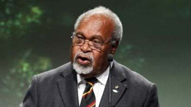 """Sir Michael Somare, PNG's """"father"""", has died."""