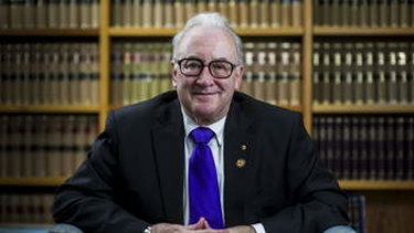 ACT Supreme Court Chief Justice Terence Higgins was to be the ACT's integrity commissioner.