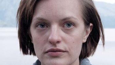 Elisabeth Moss in <em>Top of the Lake</em>.