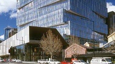 Nine occupies several floors of 717 Bourke Street.