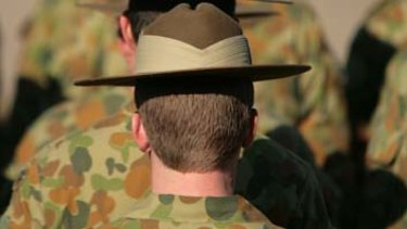 Australian Army Soldiers on parade. (File image)