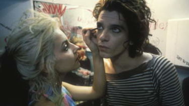 Michael Hutchence in Dogs in Space.