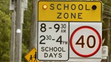 There were 105,800 fines issued for offences in school zones last financial year.
